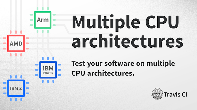 Build with Travis: Multi CPU Architectures